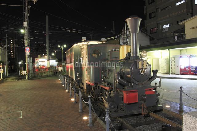 道後温泉駅坊ちゃん列車の写真素材 [FYI04156834]