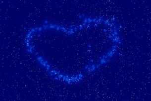 ハートの星の写真素材 [FYI04157912]