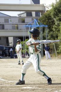 少年野球バッターの写真素材 [FYI04158613]