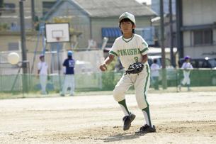 少年野球ピッチャーの写真素材 [FYI04158615]