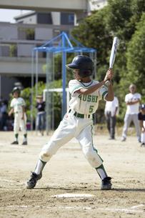 少年野球バッターの写真素材 [FYI04158618]