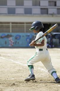 少年野球バッターの写真素材 [FYI04158620]