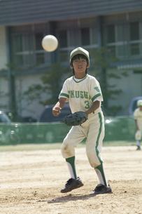 少年野球ピッチャーの写真素材 [FYI04158624]