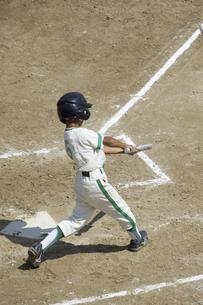 少年野球のバッターの写真素材 [FYI04158637]
