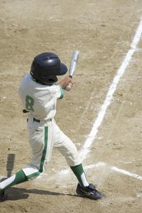 少年野球バッターの写真素材 [FYI04158648]