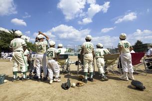 少年野球ベンチの写真素材 [FYI04158650]