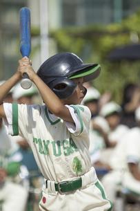 少年野球のバッターの写真素材 [FYI04158659]