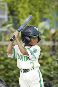 野球少女の写真素材 [FYI04158662]