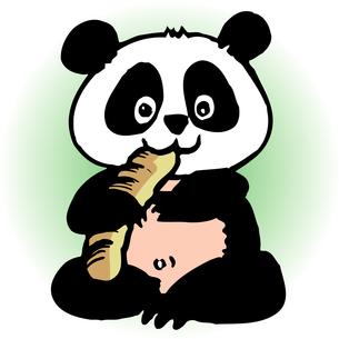 パンダのイラスト素材 [FYI04159673]