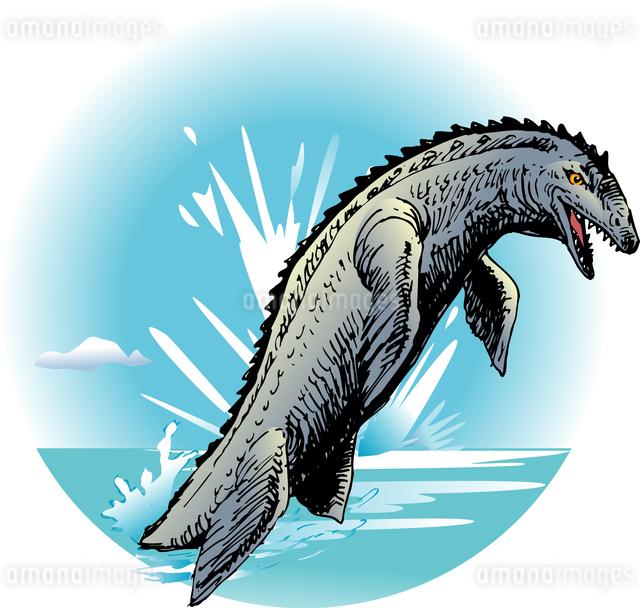 テイロサウルスのイラスト素材 [FYI04160081]