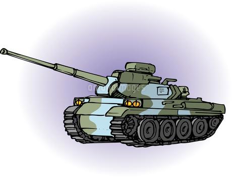 戦車のイラスト素材 [FYI04160277]