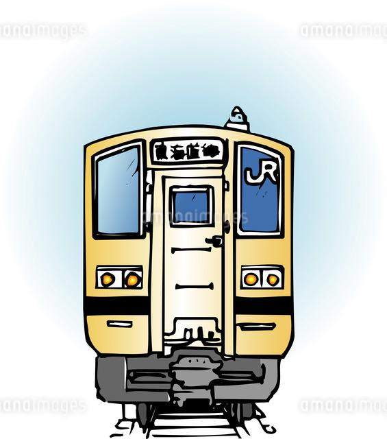 東海道線車両のイラスト素材 [FYI04160302]