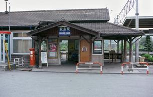上越線 敷島駅々舎の写真素材 [FYI04160764]
