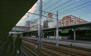 青梅線 立川駅々舎工事の写真素材 [FYI04160783]