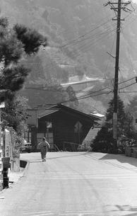 朝の丹波山村の写真素材 [FYI04160958]