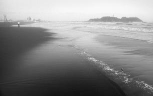 晩秋の海の写真素材 [FYI04161011]