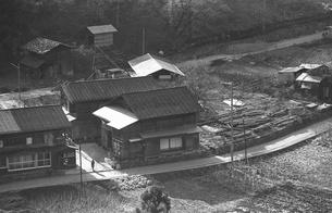 初冬の丹波山村の写真素材 [FYI04161036]