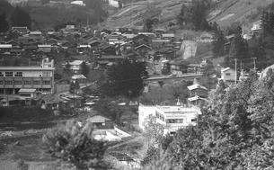 初冬の丹波山村の写真素材 [FYI04161038]