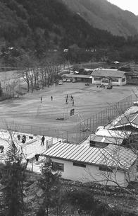 初冬の丹波山村の写真素材 [FYI04161040]