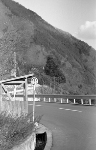 初冬の丹波山村の写真素材 [FYI04161041]