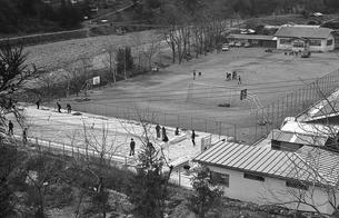 初冬の丹波山村の写真素材 [FYI04161043]
