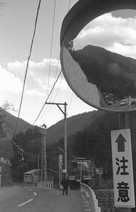初冬の丹波山村の写真素材 [FYI04161045]