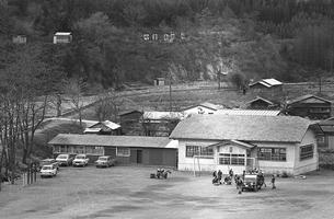 初冬の丹波山村の写真素材 [FYI04161050]