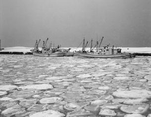流氷のノシャップの写真素材 [FYI04161215]