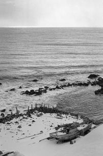 厳冬の天売島の写真素材 [FYI04161371]
