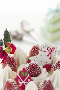 クリスマスケーキの写真素材 [FYI04162202]