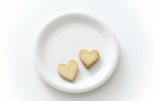 ハート型のクッキーの写真素材 [FYI04162339]