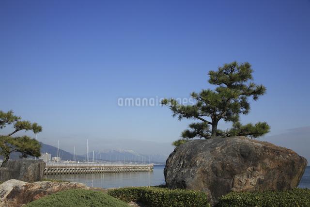 大津港の写真素材 [FYI04163062]