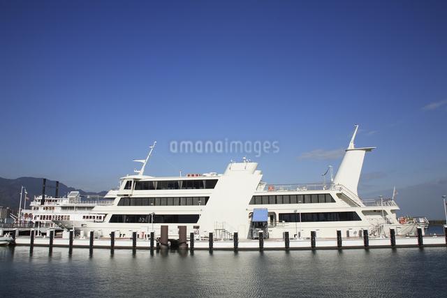 琵琶湖遊覧船ビアンカの写真素材 [FYI04163071]