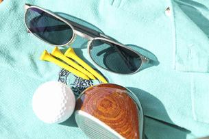 ゴルフ用品とゴルフウェアの写真素材 [FYI04164185]