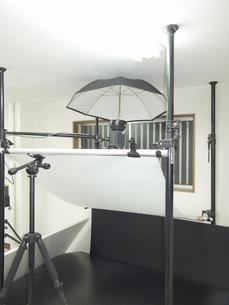 ストロボ撮影機材の写真素材 [FYI04165297]