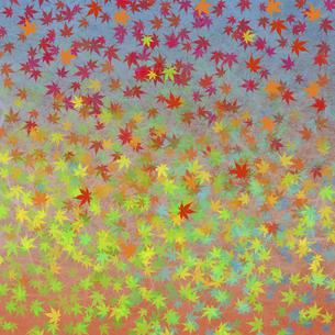 和紙に色彩構成の写真素材 [FYI04166070]