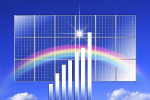 ソーラーパネルの写真素材 [FYI04167671]