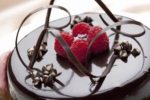 チョコケーキの写真素材 [FYI04170851]