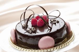 チョコケーキの写真素材 [FYI04170854]