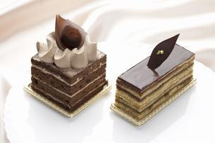 チョコケーキの写真素材 [FYI04170855]