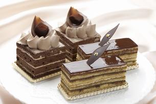 チョコケーキの写真素材 [FYI04170856]