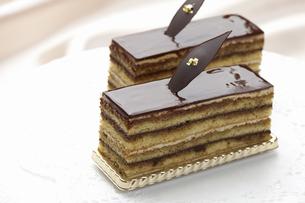 チョコケーキの写真素材 [FYI04170857]