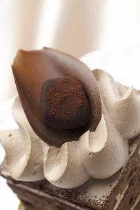 チョコケーキの写真素材 [FYI04170864]