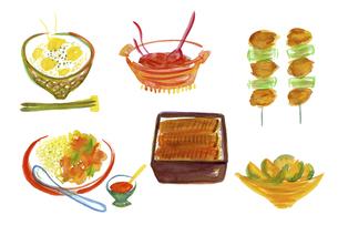 料理のイラスト素材 [FYI04172011]
