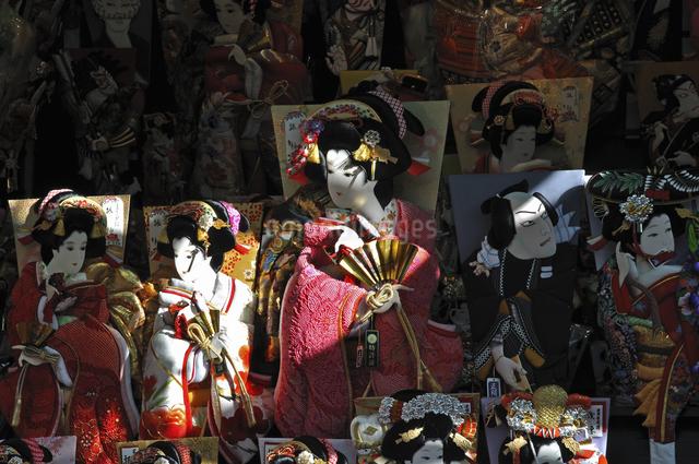 浅草・羽子板市の写真素材 [FYI04172258]