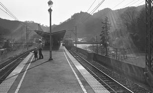 鉄道 私鉄・京王電鉄高尾線の写真素材 [FYI04172508]