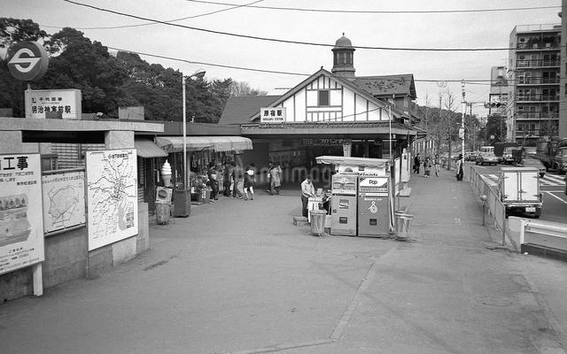 原宿・原宿駅 駅舎の写真素材 [FYI04172602]