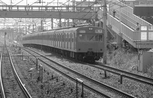 鉄道 国鉄・常磐線 103系電車の写真素材 [FYI04172771]