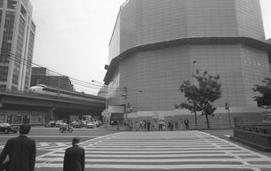 解体工事中の日本劇場の写真素材 [FYI04172779]