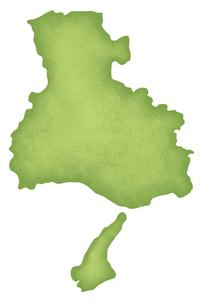 兵庫県の地図のイラスト素材 [FYI04176277]